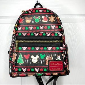 Disney Holiday Snack Loungefly Backpack